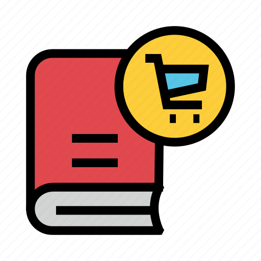 Book, cart, content, library, shopping icon - Download on Iconfinder