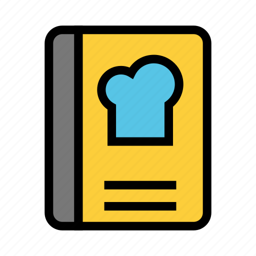 Book, chef, content, reading, recipes icon - Download on Iconfinder