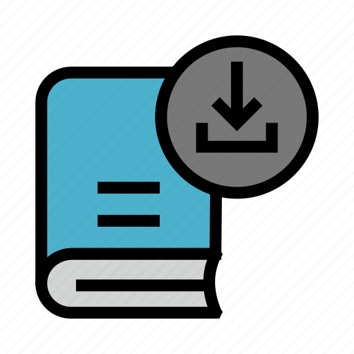 Book, content, download, education, library icon - Download on Iconfinder
