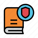 book, content, protection, security, shield