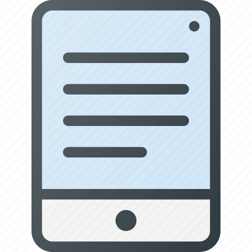 content, file, hide, interactive, tablet icon