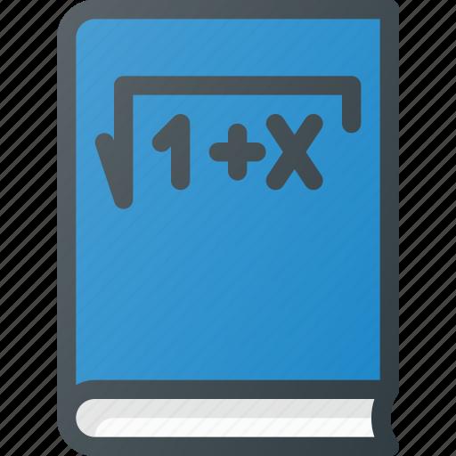 book, content, copywriting, math icon