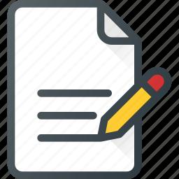 clipboard, content, copywriting, document, write icon