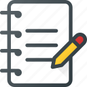 clipboard, content, copywriting, document, write icon