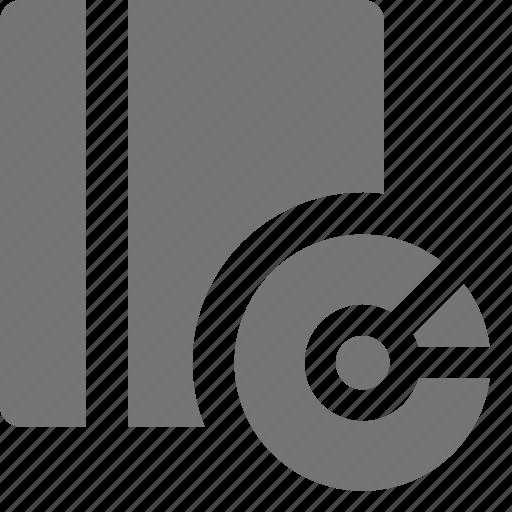 audio book, book, content, disc icon