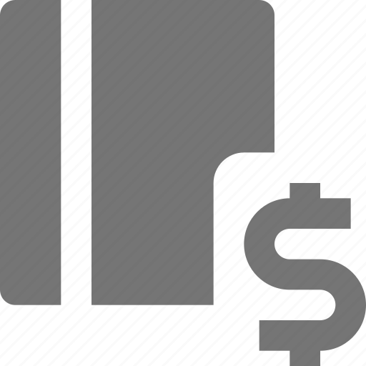book, content, dollar, money icon