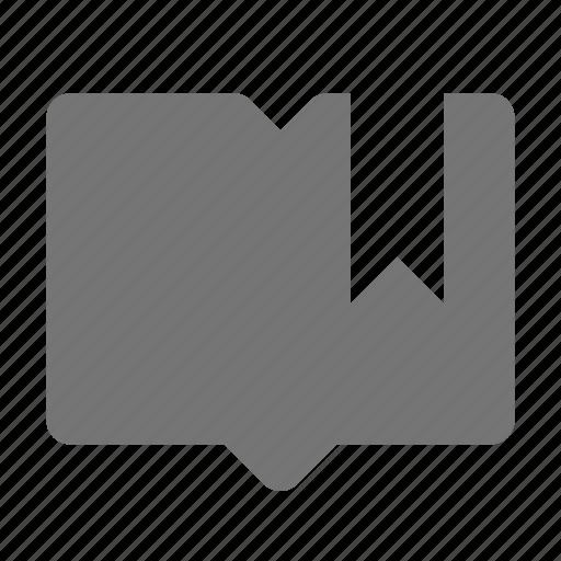 bookmark, content, tag icon