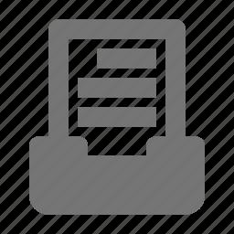 content, document icon