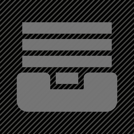 box, content, documents icon