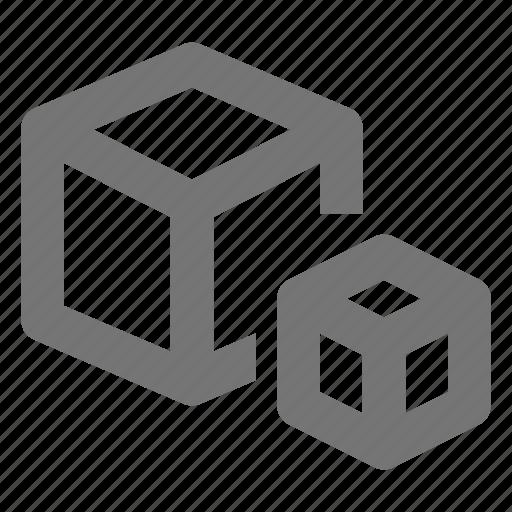 box, boxes, content icon
