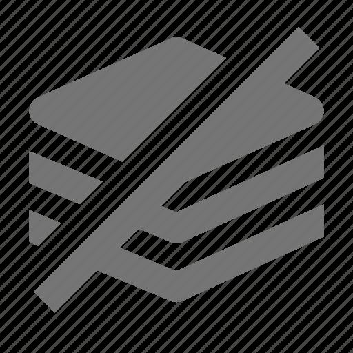 books, content, hide, layers icon