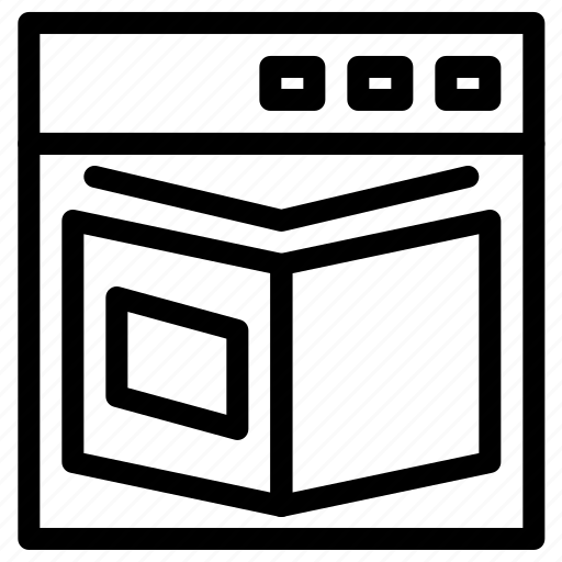 book, content, web icon