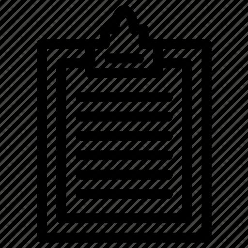 board, content, paper icon