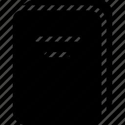 book, content, file, note, paper icon