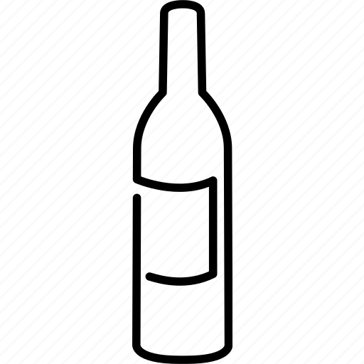 alcohol, beverage, bottle, glass, red, white, wine icon