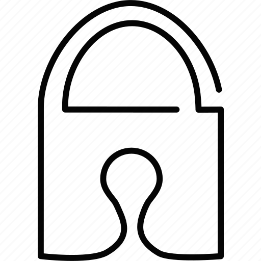access, lock, padlock, private, safety, secure, security icon