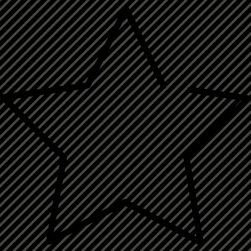 bookmark, favorite, favorites, favourite, important, like, star icon