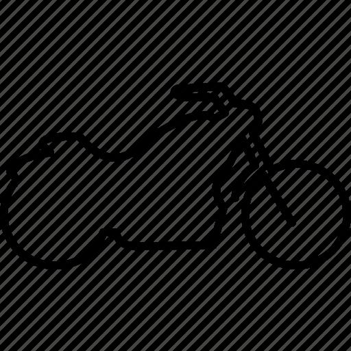 bike, motor, motorbike, motorcycle, transport, transportation, travel icon