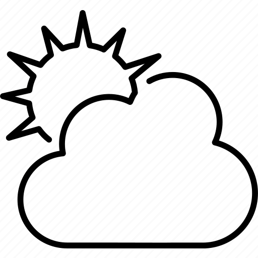 broken clouds, cloud, clouds, cloudy, forecast, partly, weather icon