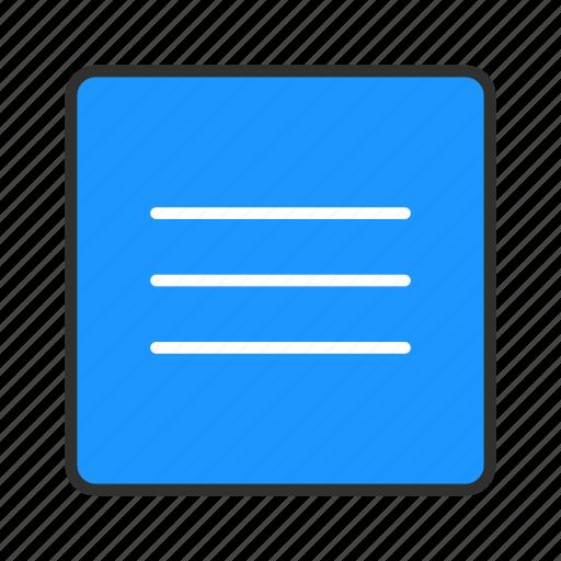 home, menu, setting, sidebar icon