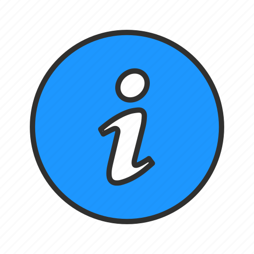 document, i, info, information icon