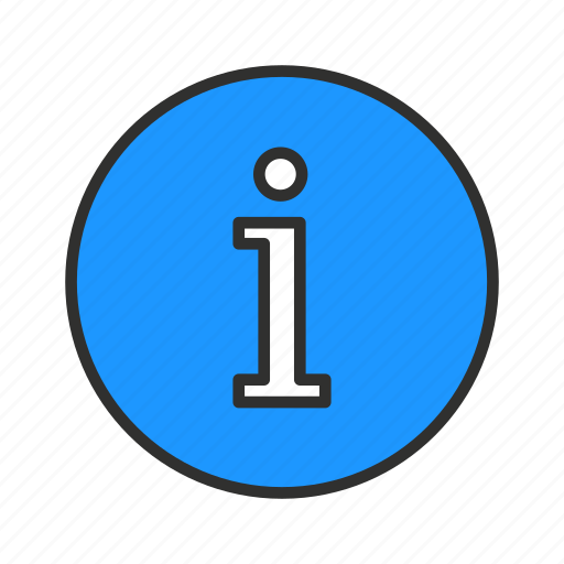 document, i, info, information icon