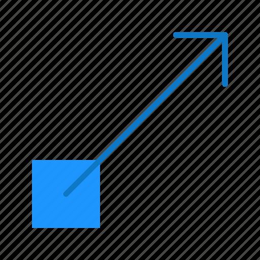 arrow, new page, new window, pointer icon
