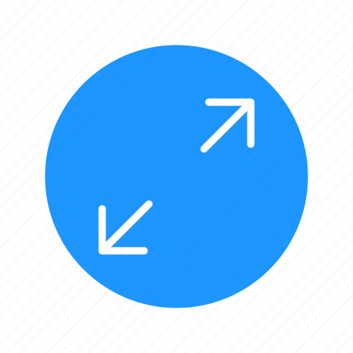 arrow, expand, maximize, zoom in icon