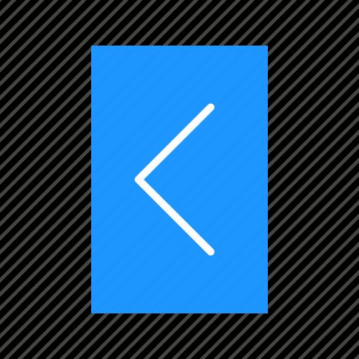 arrow, back button, navigate, return icon
