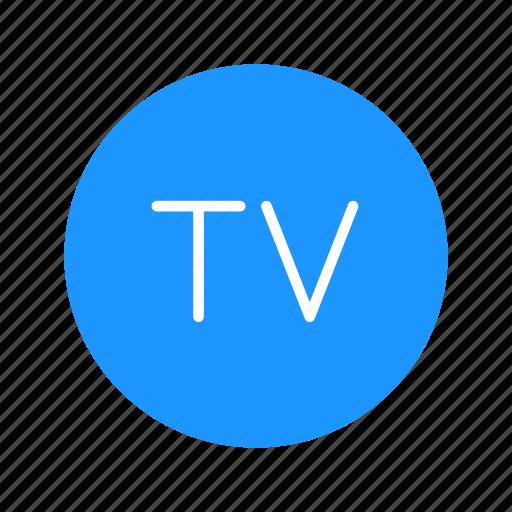 entertainment, television, tv, tv button icon