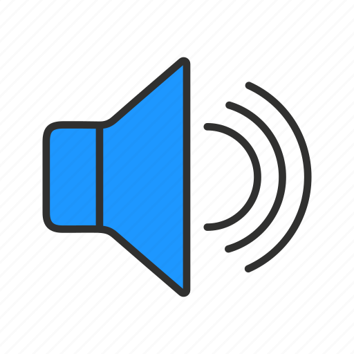 loud, music, speakers, volume icon