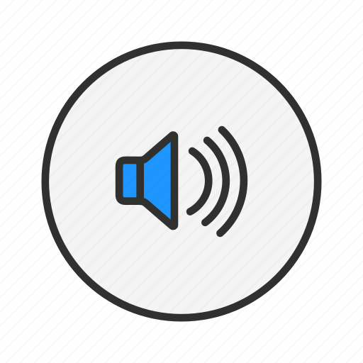 audio, loud, music, volume icon