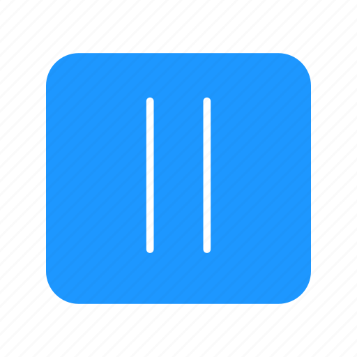 lines, pause, plug, remote button icon