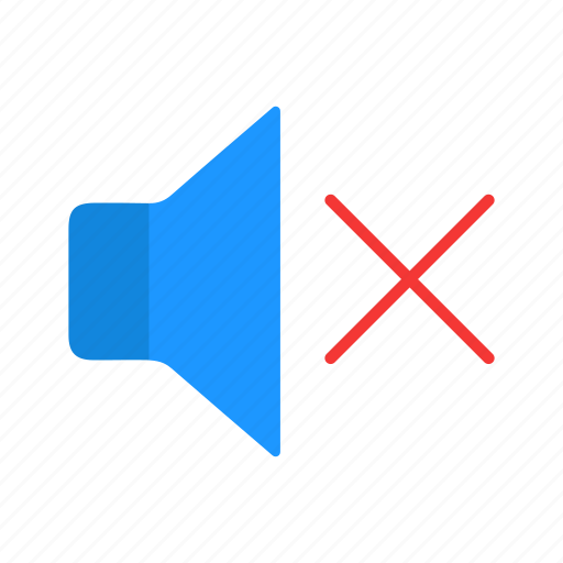 audio, mute, sound, volume icon