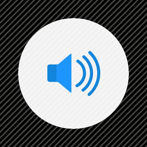 audio, full volume, sound, volume icon