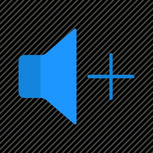 add volume, audio, music, sound icon