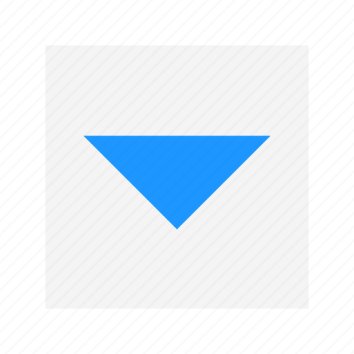 arrow, channel button, down, navigate icon