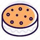 biscuit, cake, cookies, cream biscuit, cream cookie, sandwich icon