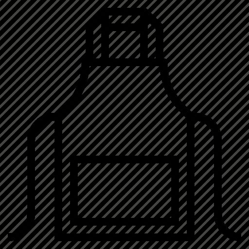 apron, cloth, food, kitchen, protection icon
