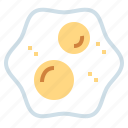 egg, eggs, food, fried, shell icon