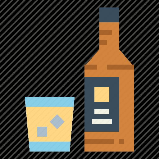 alcohol, bottle, drink, liquor icon