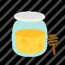 bee, food, honey, jar, sweet