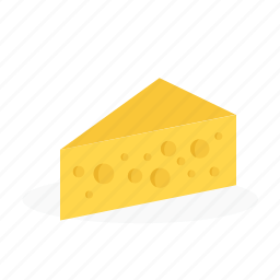 butter, cake, cheese, food, line icon