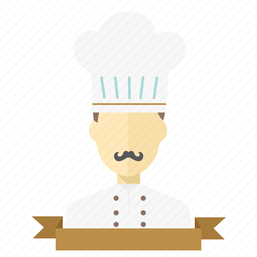 chief, cook, cooking, cooking hat, food, kitchen, man icon