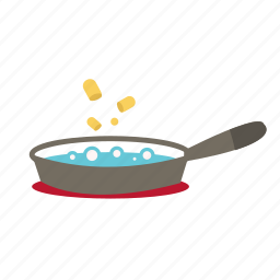 boil, cook, cooking, food, kitchen, pan, soup icon