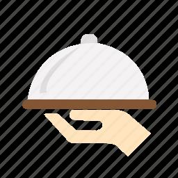 beverage, breakfast, chief, food, restaurant, serving icon