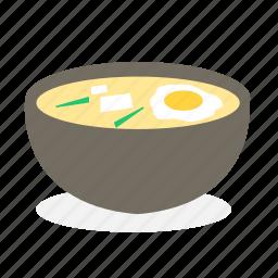 egg, food, ingredient, japan food, noodles, ramen, soup icon