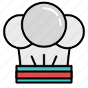 cooking, food, hat, ingredients, kitchen, recipe, restaurant icon