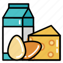 cooking, dairy, food, ingredients, kitchen, recipe, restaurant icon