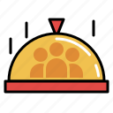 cooking, food, ingredients, kitchen, recipe, restaurant, serving icon